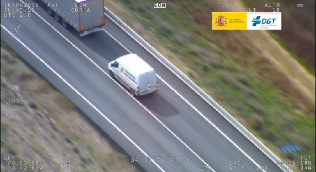 Uno de cada cuatro conductores de furgonetas denunciados ha sido por circular sin la ITV en regla