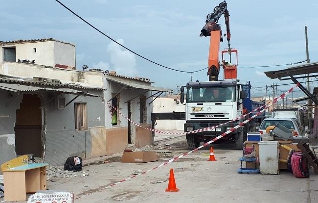 El Ayuntamiento de Palma ha ejecutado las dos órdenes de desahucio previstas en son Banya