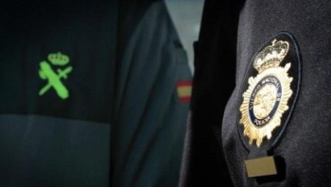 Policía Nacional y Guardia Civil colaboran en desarticulación un grupo organizado