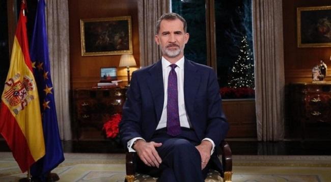 El Rey Felipe VI ha hecho un llamamiento a asegurar la convivencia en su mensaje navideño