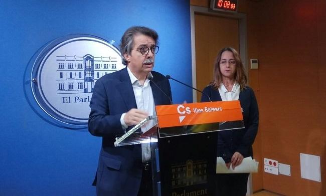 """Pericay: """"Nos preocupa el nivel de degradación institucional al que hemos llegado en Baleares"""""""