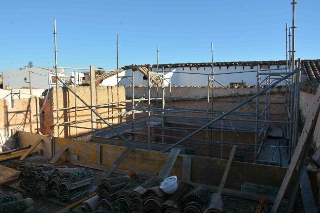 Santanyí inverteix 115.000 en la renovació de la teulada de Ca ses Monges de s'Alqueria Blanca