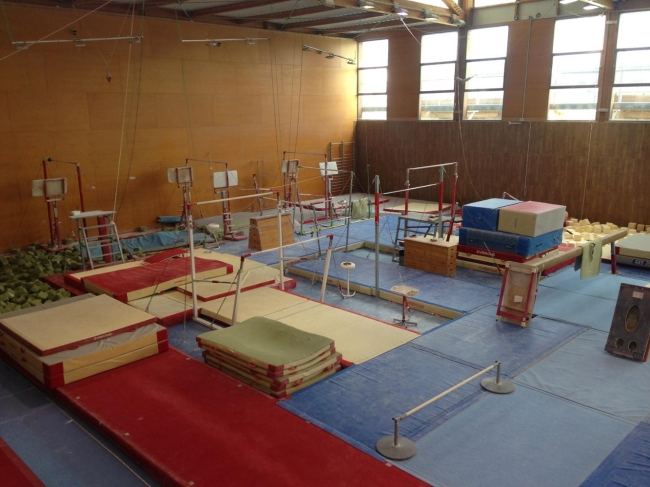 Nueva sala de gimnasia en el polideportivo Príncipes de España