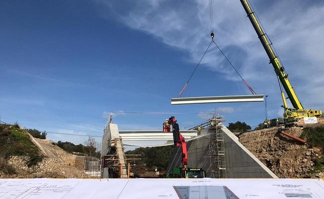 El puente de acceso a Artà se podrá reabrir al tráfico a mediados de marzo
