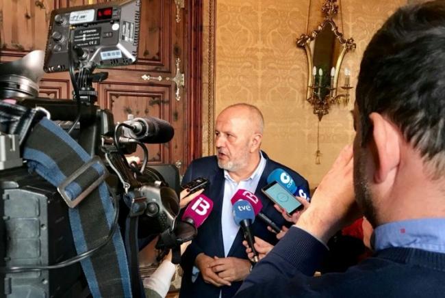 Ensenyat: si la legislatura 'acaba' sin REB, 'PSOE y PP' confirmarán que 'no tienen ningún interés por Baleares'