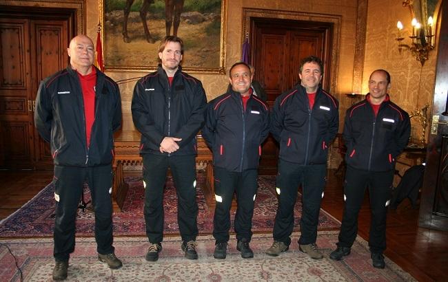 El Consell incorpora cinco sargentos en la plantilla de Bomberos de Mallorca