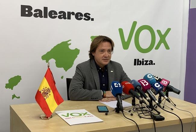 Vox: Lamentamos que Armengol siga manteniendo dentro del Pacte a partidos como Més