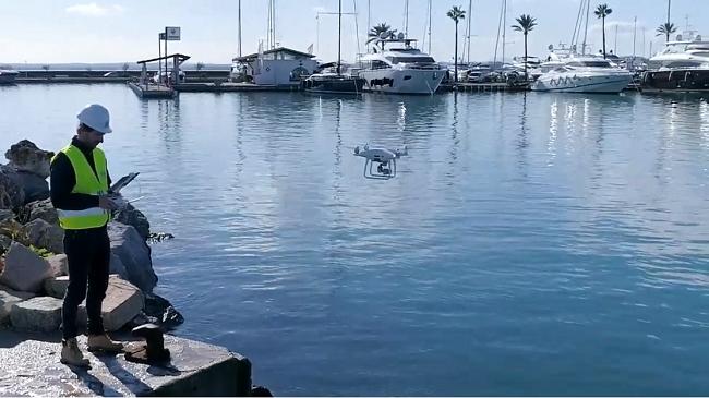 Los principales puertos de Baleares estarán controlados por drones