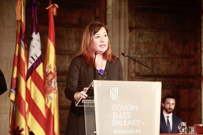 Armengol: el Congreso de los Diputados ha aprobado un nuevo Régimen Especial que mejorará la vida de nuestros ciudadanos