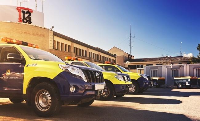 Emergencias coordina el dispositivo de seguridad a la Diada de las Illes Balears