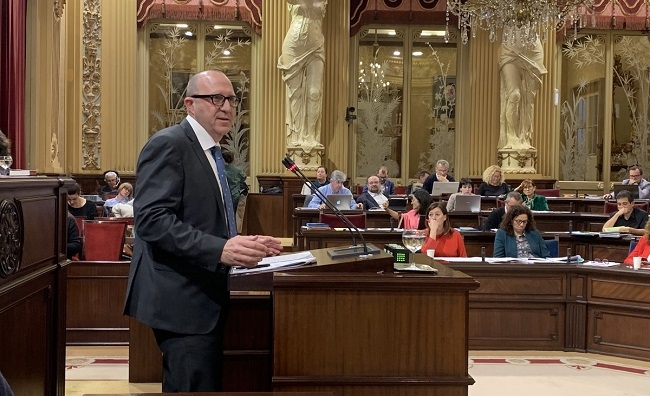 Andreu Alcover: 'El PP ha vuelto a demostrar que no es alternativa de Gobierno'