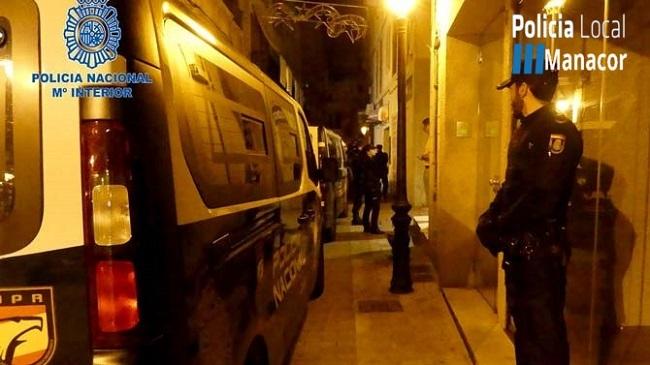 Inspecciones policiales en locales de ocio de Manacor