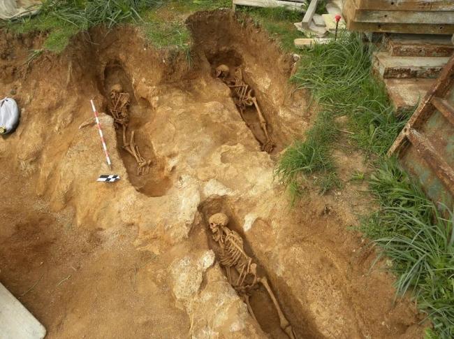 La necrópolis islámica de s'Obac es la más completa excavada hasta el día de hoy en Mallorca