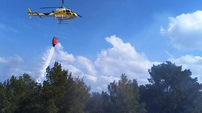4 incendios activos en Mallorca
