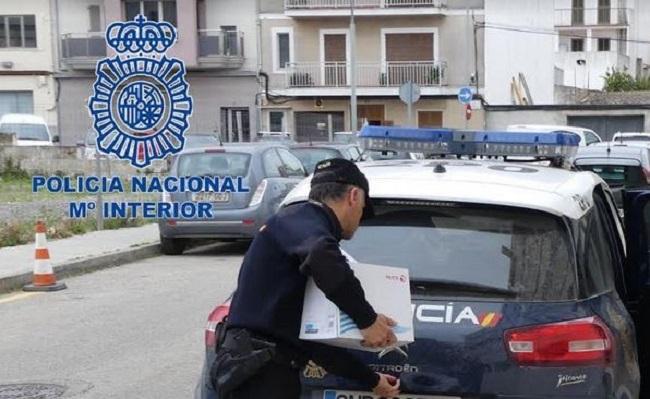 La Policía Nacional realiza un dispositivo contra el menudeo deteniendo a ocho personas