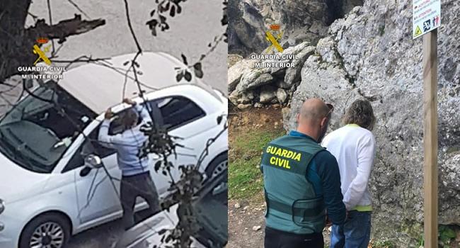 La Guardia Civil detiene a tres varones por robo en interior de vehículos en miradores de la Serra de Tramuntana