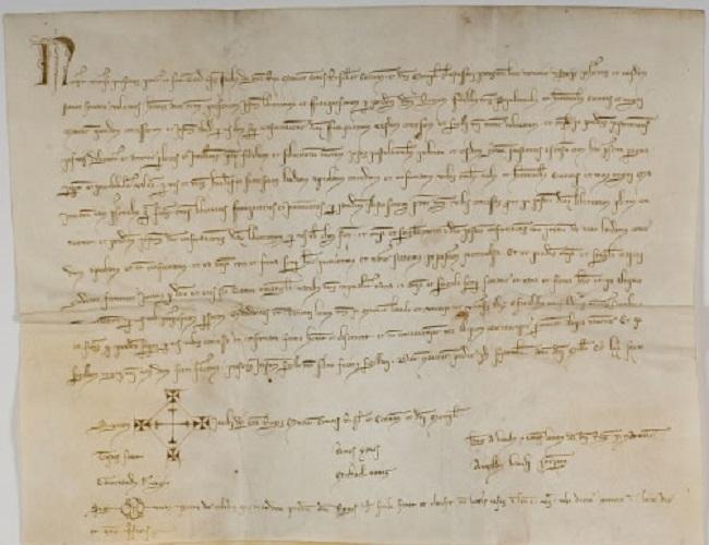 """El documento del mes del Archivo del Reino de Mallorca es la """"Confirmación de las franquezas de Mallorca por Jaume II"""""""