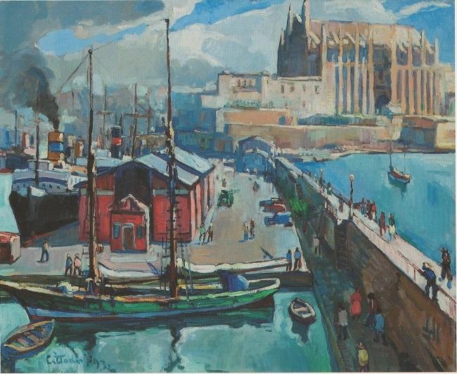 El Museu Krekovic obre les portes als pintors estrangers que han creat a Mallorca
