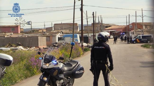 Siete detenidos y 470 gr de cocaína incautados en la redada de Son Banya