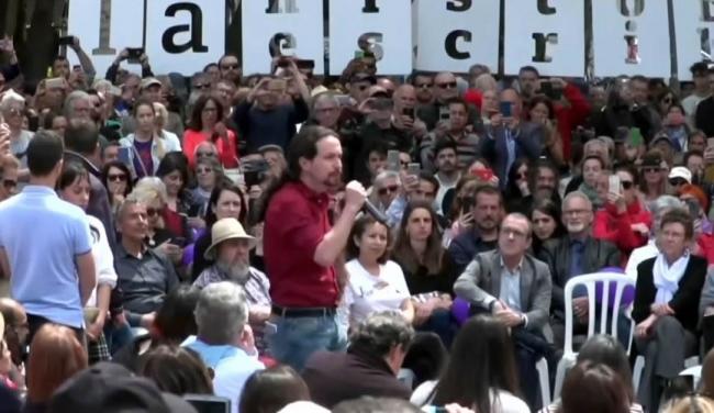 Iglesias promete en Palma que prohibirá los contratos temporales de menos de un mes