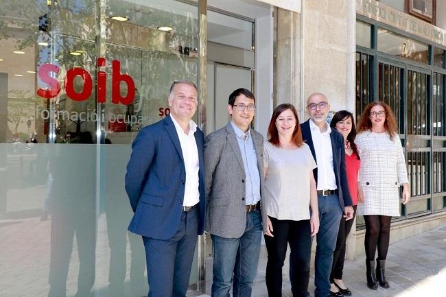 Armengol: el servicio SOIB Joven Orientación está más cerca de la ciudadanía