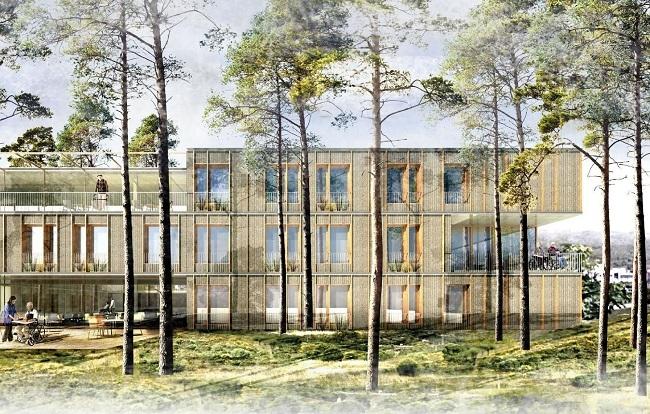 El proyecto 8S, ganador del concurso de ideas arquitectónicas del centro de largas estancias de Son Dureta