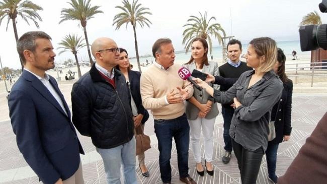 Mesquida: Cs va a incrementar el presupuesto de la promoción turística y de la inversión pública