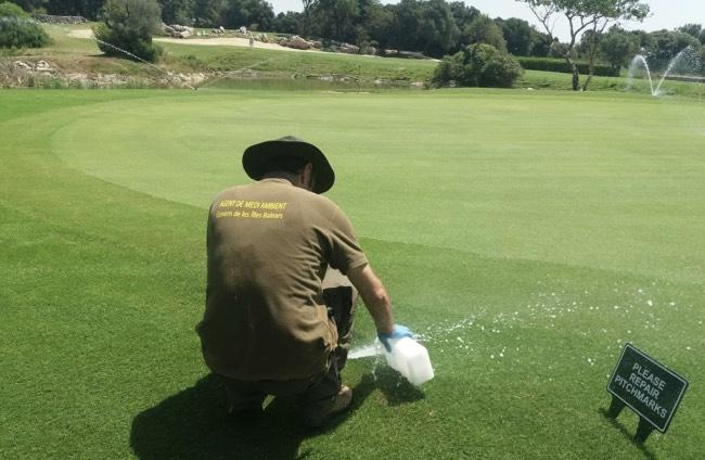 Tres campos de golf de Mallorca sancionados con 5000.000 euros
