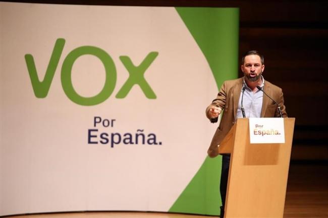Santiago Abascal visita Palma hoy sábado, día central de la campaña electoral