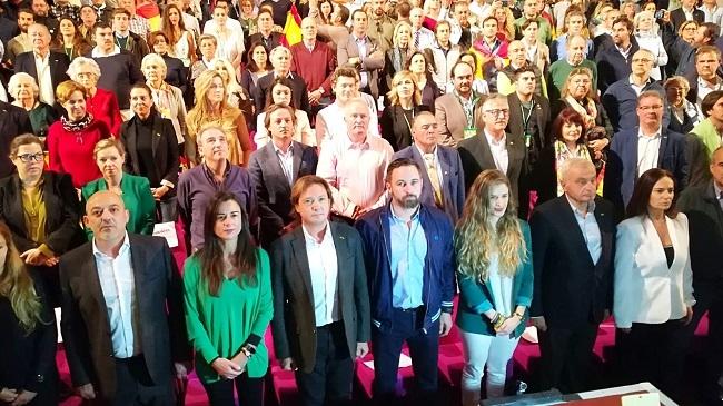 """Santiago Abascal en Palma: """"la unidad de España no se discute, no se vota: se defiende"""""""