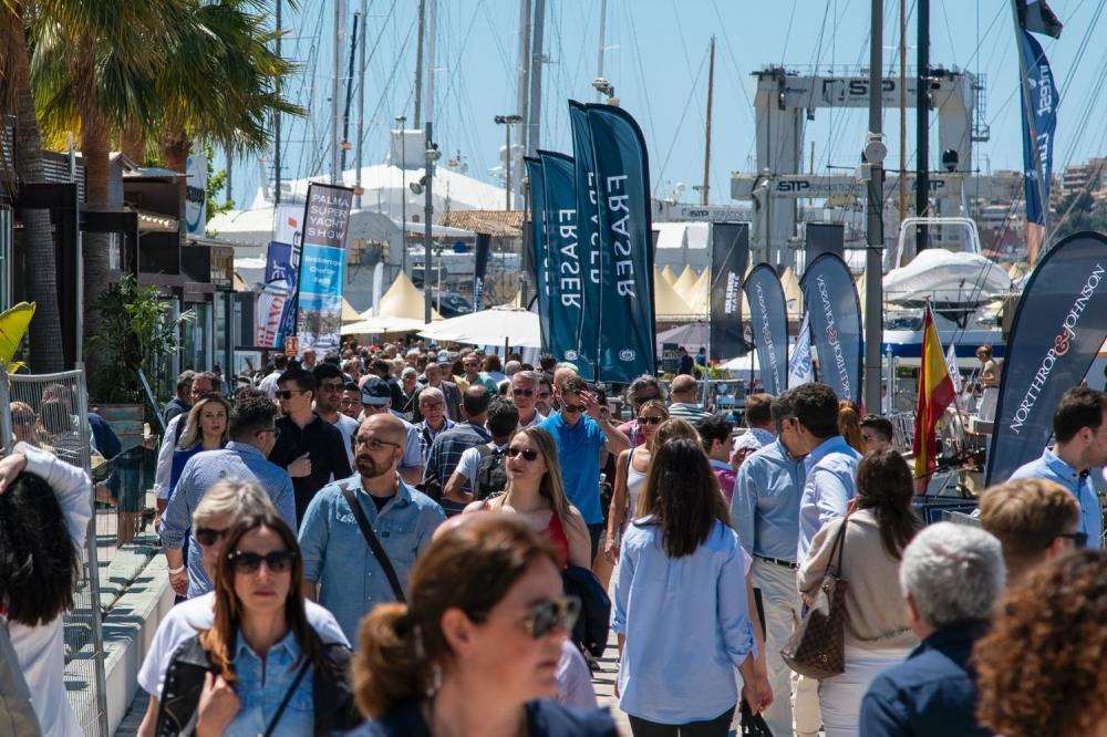 Los visitantes puntúan con un excelente la oferta del Palma International Boat Show