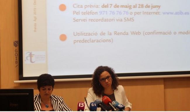 El servicio Renta Ágil de la ATIB arranca este martes para ayudar a hacer la declaración del IRPF en 37 municipios de las Illes Balears