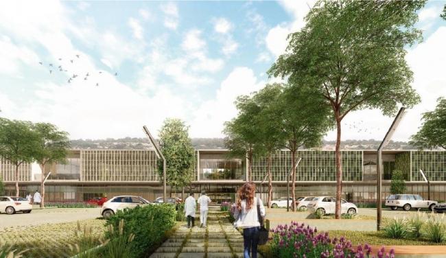 El nuevo centro hospitalario  de Felanitx tendrá un total de 8.972 m2 y cien habitaciones dobles de uso individual