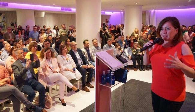 Armengol: Si soy presidenta, habrá muchos más viviendas públicas en Baleares y de forma especial en la isla de Ibiza'