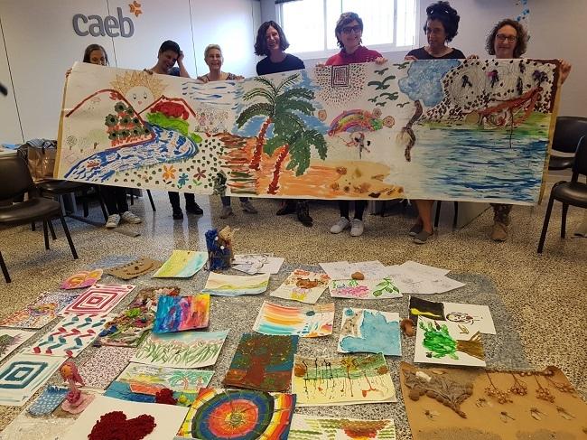 La AECC clausura un taller de creatividad y desarrollo personal a través del arte para pacientes oncológicos