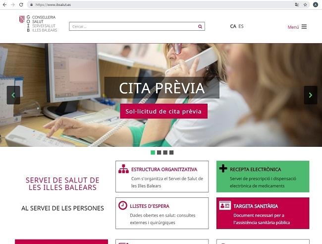 La nuevo web del Servicio de Salud permitirá a la ciudadanía acceder a las listas de espera