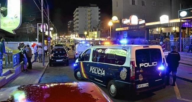 La Policía Nacional realiza nueve detenciones por robo con violencia en Playa de Palma
