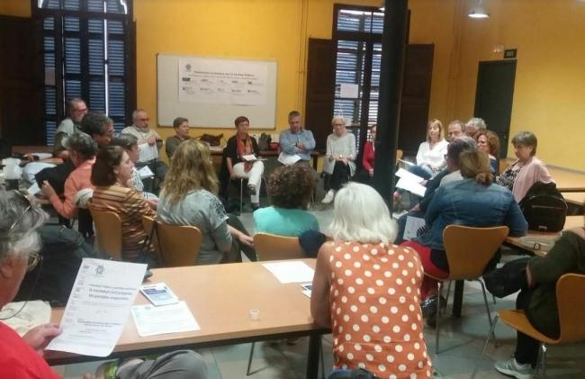 Presentación de las 24 propuestas de la Plataforma Ciutadana per la Sanitat Pública de les IB