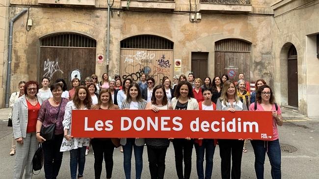 Francina Armengol pide el voto de las mujeres 'para poder seguir avanzando en la igualdad entre hombres y mujeres'
