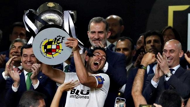 El Valencia Campeón de la Copa del Rey