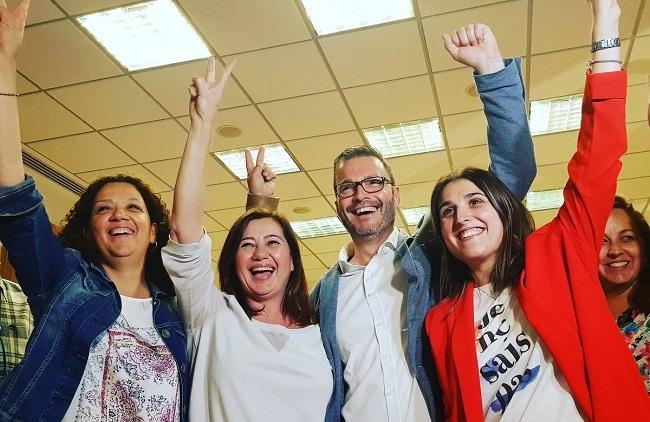 Francina Armengol y el Pacto de Progreso repetirá Govern