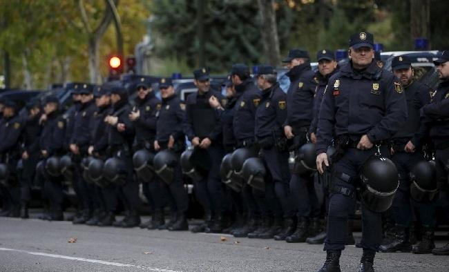 La Policía Nacional activa el dispositivo de seguridad para proteger la final de la UEFA Champions League