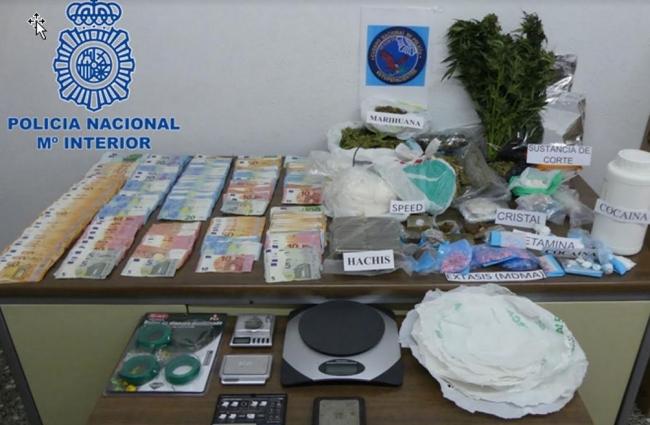 Ocho detenidos por tráfico de drogas en Menorca