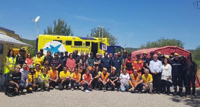 Los cuerpos de emergencias de las Illes Balears y la UME se preparan para la temporada de incendios