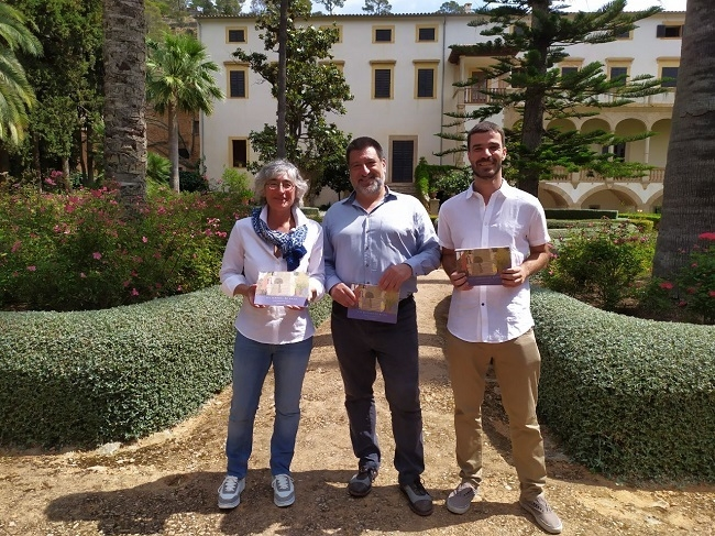 El Consell de Mallorca edita la primera guía histórico-artística sobre los jardines de Raixa