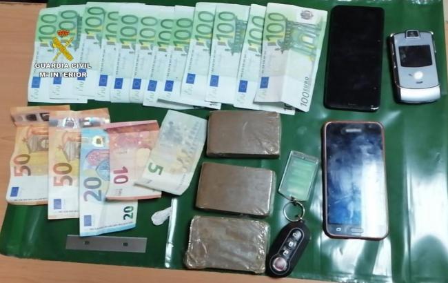 La Guardia Civil detiene a dos hombres por tráfico de drogas uno en Inca y otro en Felanitx