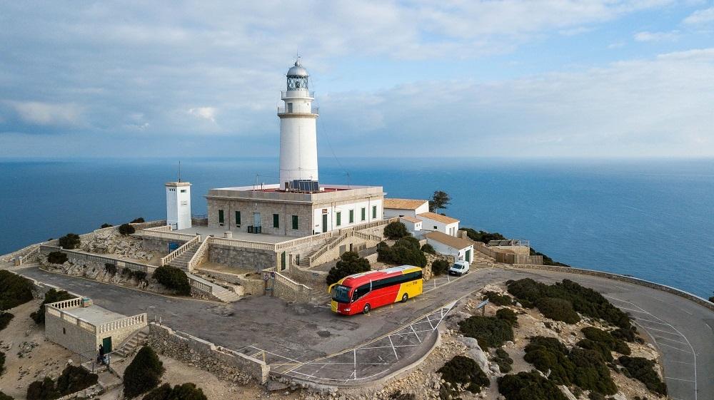 Dissabte entra en funcionament la llançadora al far de Formentor i comença la restricció de trànsit