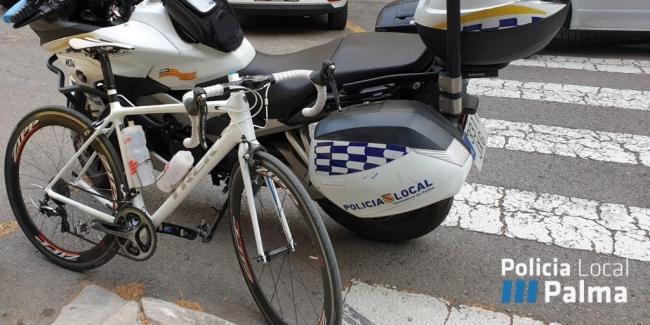 Policia de Palma recupera una bicicleta valorada en 4500 €