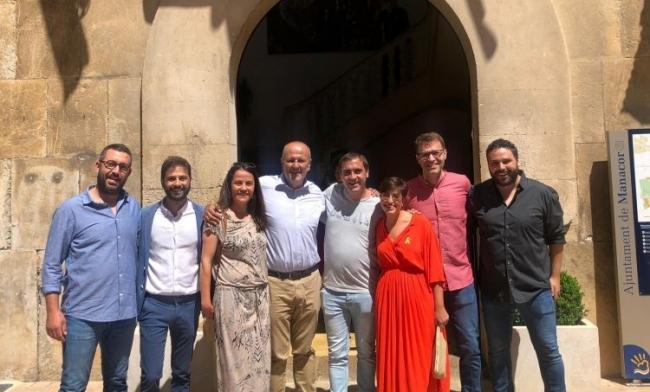 Miquel Oliver investit com a batle de Manacor per MÉS-Esquerra