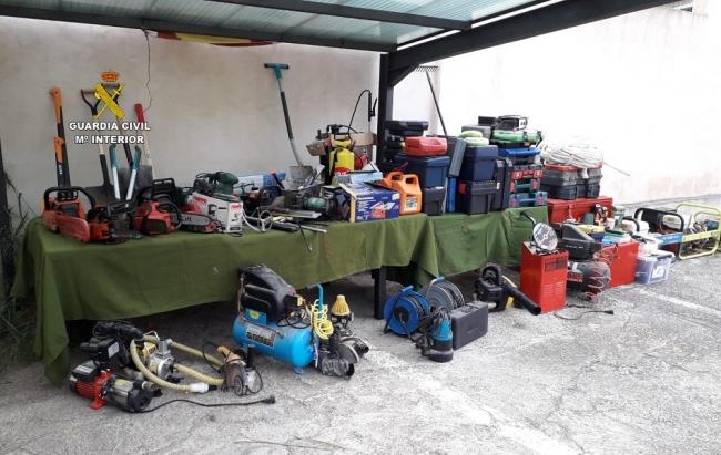 La Guardia Civil detiene a un hombre por multitud de robos en casas de campo de Mallorca